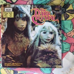 VTG Original Dark Crystal Book -Read Along